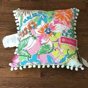 Outdoor/indoor pillow by Lilly Pulitzer